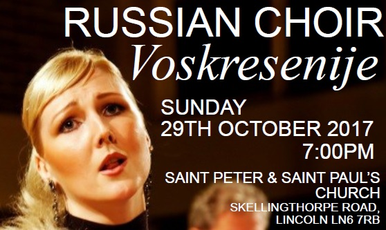 Russian Voskresenije (Resurrection) Choir Concert