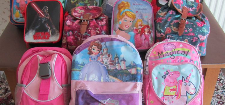 Mary's Meals Backpack Collection!